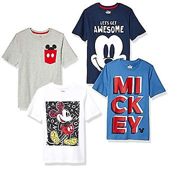Spotted Zebra by Disney - Little Boys' Mickey Mouse 4-Pack Short-Sleeve T-Shi...