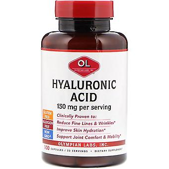 Olympian Labs, Hyaluronic Acid, 150 mg, 100 Capsules