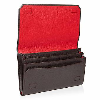 Cocoa Brown Richmond Leather Travel Wallet Organiser