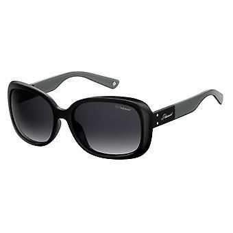 نظارات شمسية Unisex 4069/G/S/X807/WJ التدرج الأسود/ الرمادي