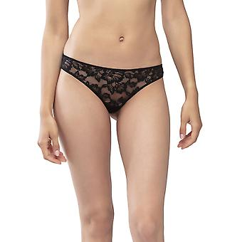 Mey Serie Amazing 79236-3 Women's Black Lace Thong