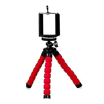 Flexible And Portable Tripod With Phone Holder And Remote Shutter