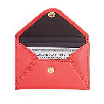 Porte-cartes de visite de style enveloppe - Rouge