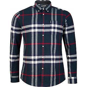 Barbour Highland Skontrolujte 18 Na mieru flanelové tričko