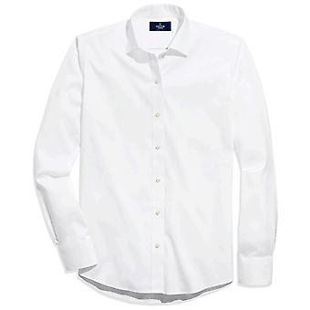 BUTTONED DOWN Miehet&s Slim Fit Spread-Kaulus Ei-Rauta mekko paita (Ei taskua), ...