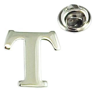 Ties Planet Alfabet Letter T Revers Pin Badge