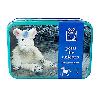 Petal The Unicorn Simple Sewing Kit, Suitable For Children - Luxury Gift Item