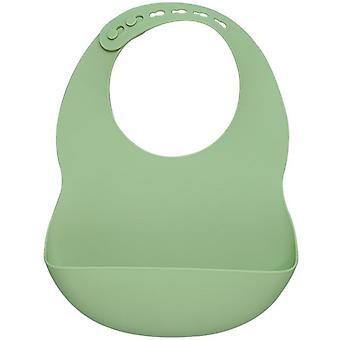 Muslinlife Nouveau-né Bébé Silicone Alimentation Vaisselle Imperméable à l'eau Bibs Pour tout-petit