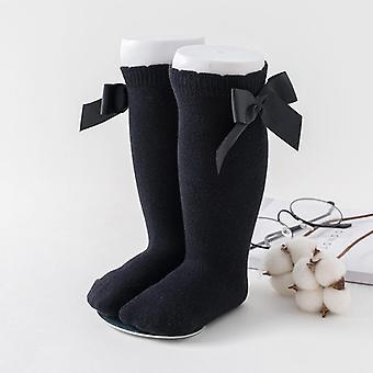 Őszi és téli baba zokni, térd magas pamut zokni lányok