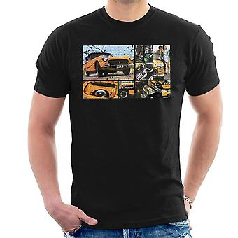 Austin Healey Sprite Mark IV Montage British Motor Heritage Men's T-Shirt