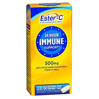 Ester-C Vitamin C Coated Tablets, 500 mg, 60 ct