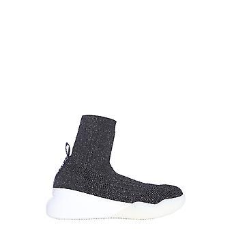 Stella Mccartney 558860w1ps11078 Women's Black Nylon Hi Top Sneakers
