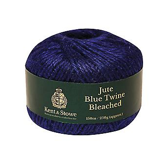 Kent & Stowe Jute Twine Bleached Blue 150m (250g) K/S70100820