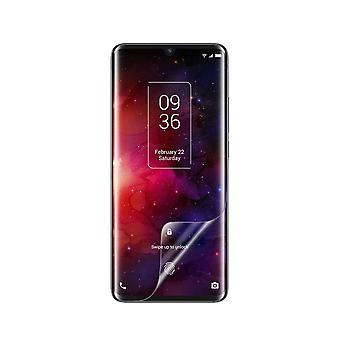 Celicious Vivid Flex Invisible Glossy 3D Screen Protector Film Compatible with TCL 10 Pro [Pack of 3]