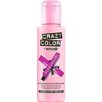 Renbow Crazy Color Semi Permanent Hair Dye - Pinkissimo 100ml