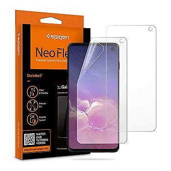 Spigen Neo Flex HD Bildschirmprotektor Samsung Galaxy S10 (2 Stück)