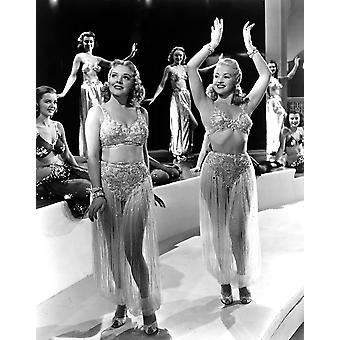 Tin Pan Alley Alice Faye Betty Grable 1940 Tm & Copyright 20Th Century Fox Film Corp All Rights Reserved Photo Print