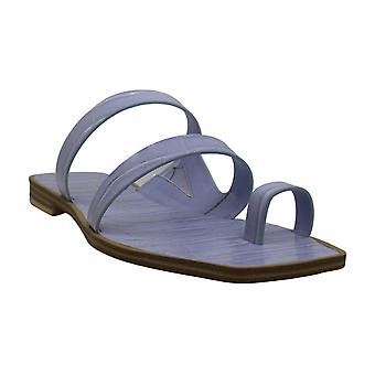 Dolce Vita Womens Isala Flat Sandals Leather Open Toe Casual Slide Sandals