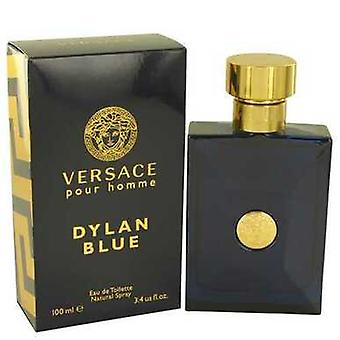 فيرساتشي بور هوم ديلان الأزرق من فيرساتشي أو دي Toilette رذاذ 3.4 أوقية (رجال) V728-534152