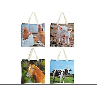 Fallen Fruits Reusable Shop Bag Farm Animal TP140