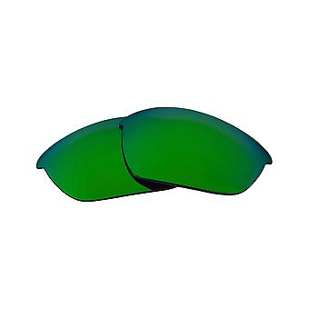 Polarized Replacement Lenses for Oakley Half Jacket 2.0 Frame Anti-Scratch Green