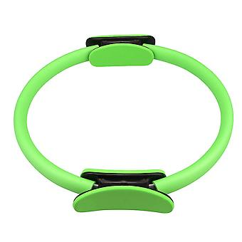Green Balanced Pilates Circle for Toning Thighs Outer Dia 41.5cm