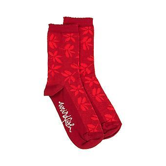 Ivy Bambu sukat rikas punainen