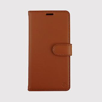 Eco Friendly Leather Brown 2 in 1 iPhone 12 Case