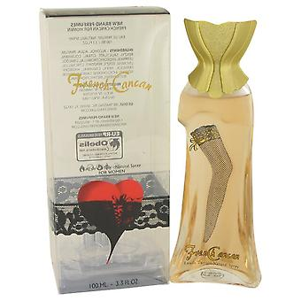 French Cancan New Brand Eau De Parfum Spray By New Brand 3.3 oz Eau De Parfum Spray