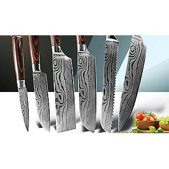 8 Inch Chef Knives - High Carbon Stainless Steel Set