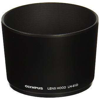 Capô de lente olympus lh-61d para m.zuiko digital ed lente 40-150mm
