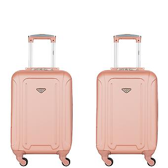 Flight knight 4 wheel abs hard case cabin suitcases & hold luggage single cabin bag and set easyjet