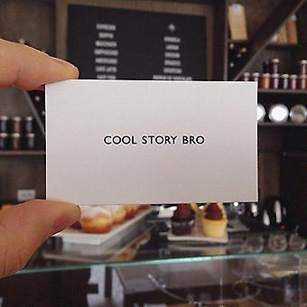 Cool Story Bro- Classic Business Card