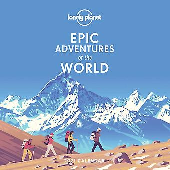 Otter House Square Wall Calendar 2021 - Lonely Planet Epic Adventures