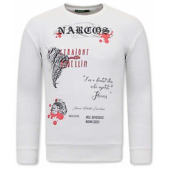 Narcos  Sweater - Wit