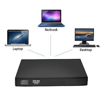 USB DVD externá mechanika CD VCD DVD prehrávač optická mechanika spisovateľ