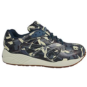 Puma XS 850 x BWGH Camo Blue Leather Lace Up Mens Trainers 357384 01 X25A