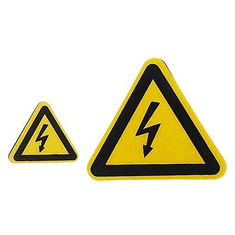 Warning Sticker Adhesive Labels, Electrical Shock Hazard Danger Notice, Safety,