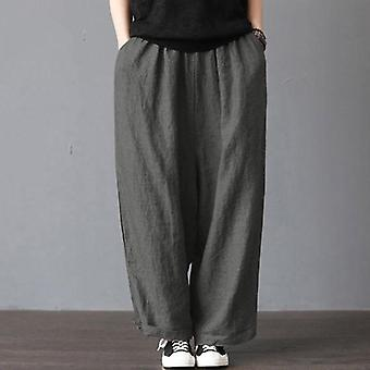 Men Casual Loose Wide Leg Pants, Casual Bloomers Trousers, Harem Plus Size