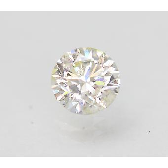 Zertifiziert 0.57 Karat G SI1 Runde Brilliant Enhanced Natural Loose Diamond 5.23mm