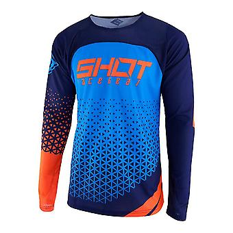 Shot Aerolite Delta Orange Adults MX Jersey