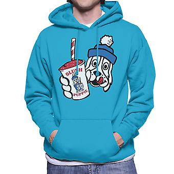 Slush Puppie Retro Cup Logo Men's Hooded Sweatshirt