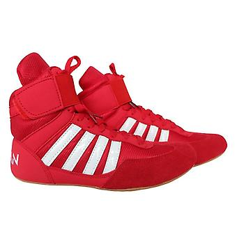 Authentic Wrestling Shoes High Boxing Cow Muscle Outsole Breathable Sneakers