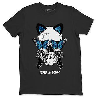 Cute & Punk Jordan 1 Tie-Dye Sneaker Match T-Shirt - AJ1 Schoen Outfit