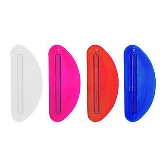 Exprimidor de pasta de dientes manos libres de plástico (color aleatorio)