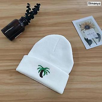 New Fashion Beanie Hat Femmes Hommes Tricoté Warm Winter Solid Hip-hop Casual