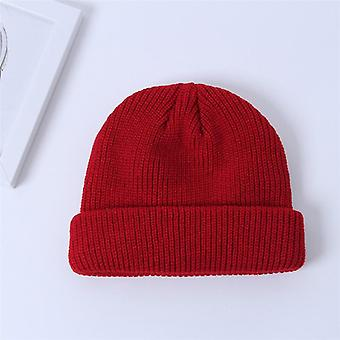 Brimless Hip Hop Beanie Skullcap Street Knitted Hat/men
