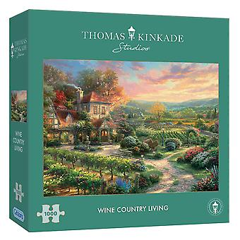Gibsons 1000 Piece Wine Country Living Jigsaw Puzzle