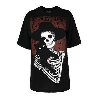 Restyle Eternal Love Oversized Gothic T-Shirt