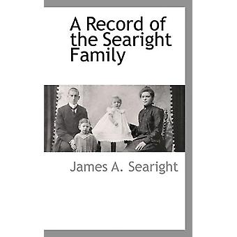 A Record of the Searight Family by James A Searight - 9781110810024 B